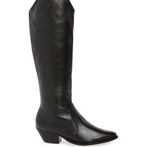 SCHUTZ Fantinne Knee High Western Style Boot